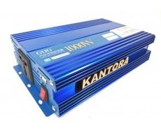 Автомобильный инвертор 24 в 220 v 1000 W преобразователь