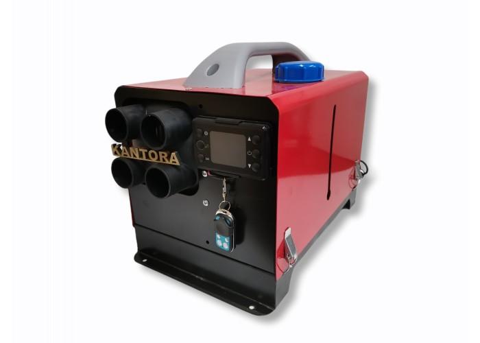 Переносной автономный отопитель квадратный сухой фен печка микуня 5 кВт 12