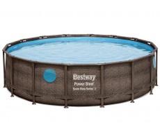 Каркасный бассейн Bestway 56725 488х122 см