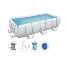 Каркасный прямоугольный бассейн Bestway 56441