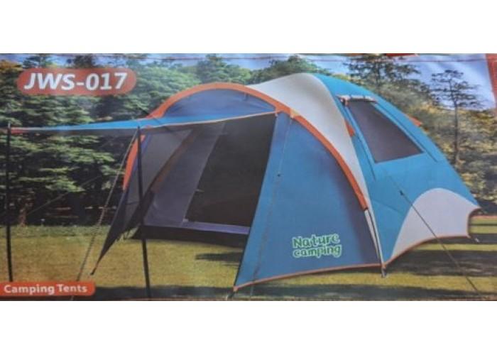 Палатка туристическая 4х-местная JWS 017
