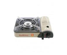 Туристическая походная портативная газовая печь плита печка плитка NaMilux NA-161PF/2W