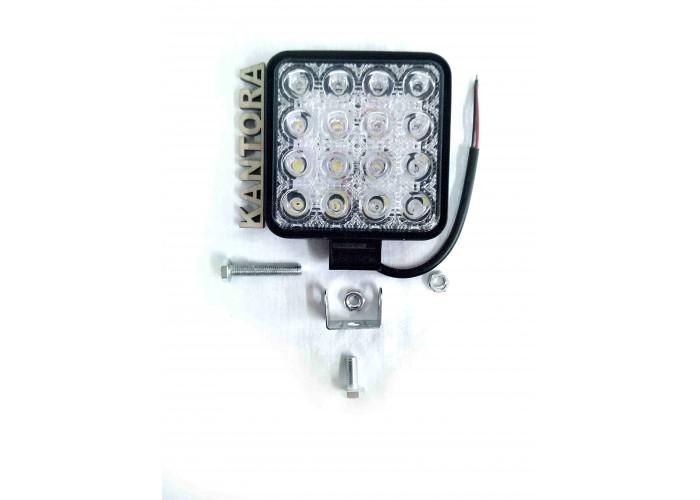 Светодиодная LED фара 48 Вт W 12-24V