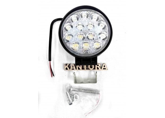 Светодиодная LED фара 42 Вт W 12-24V