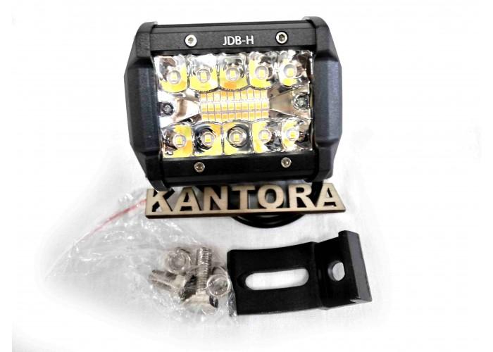 Светодиодная LED фара 36 Вт W 12-24V двухцветная
