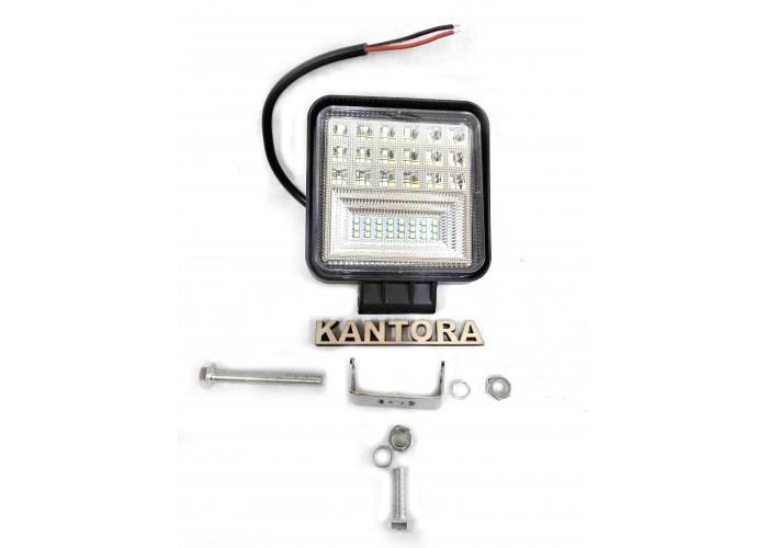 Светодиодная LED фара 126 Вт W 12-24V