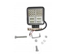 Светодиодная LED фара 126 Вт W 12-24V двухцветная