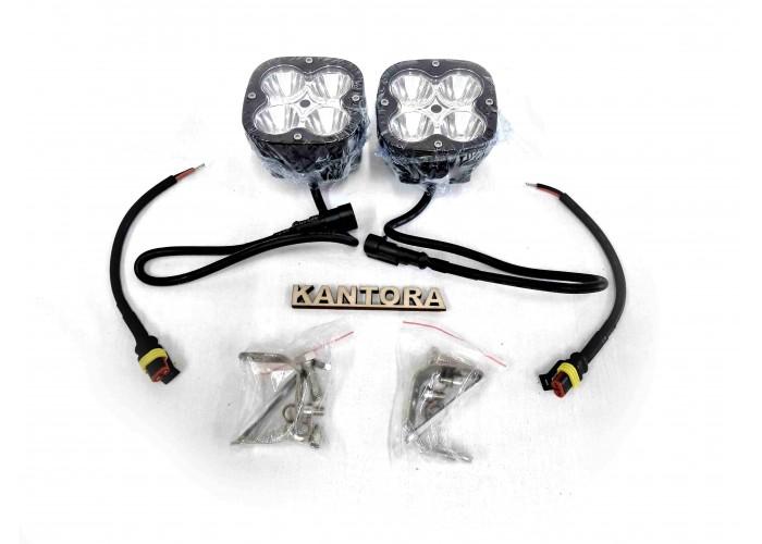 Светодиодная LED фара 40 Вт W 12-24V