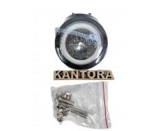 Светодиодная LED фара 20 Вт W 12-24V круг линза