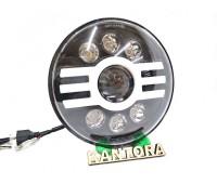 Фара DG-1 (C) круглая светодиодная для УАЗ, ВАЗ, Гелик