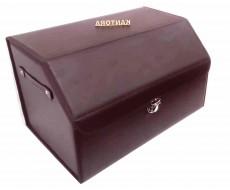 Авто органайзер 50 см Эко Кожа  на застёжке коричневый