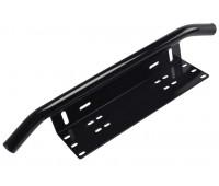 Рамка дуга для гос номера алюминиевая силовая бык бар