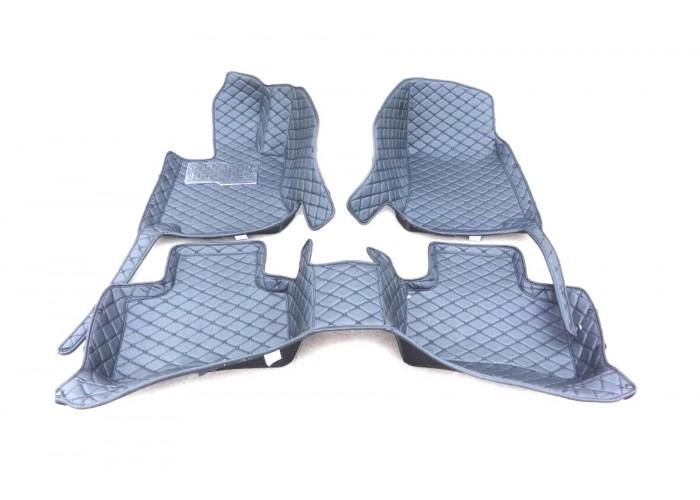 Коврики 3D на Lexus LX470 (J100) - L серые