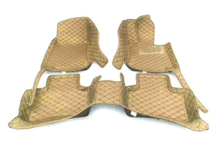 Коврики 3D на Honda Fit (GK) 13-20 - R бежевые