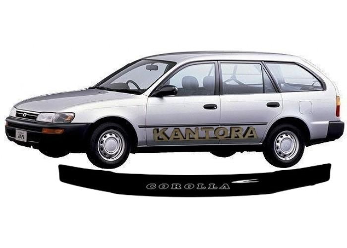 Дефлектор капота Toyota Corolla E100 1991-2002 mb