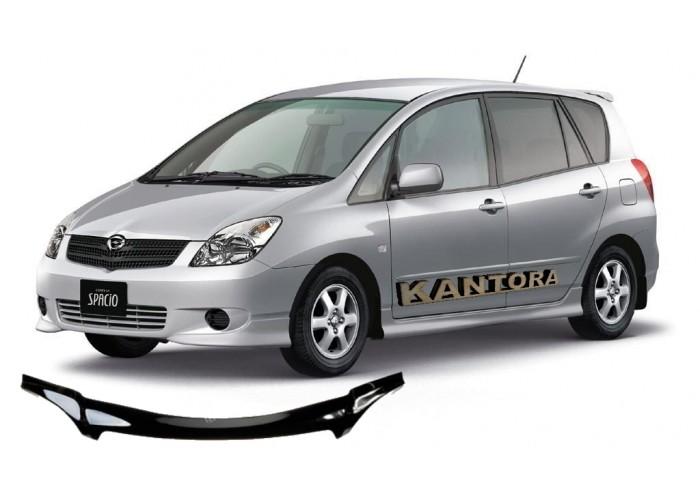 Дефлектор капота Toyota Corolla Spasio E120 2001-2007 mb