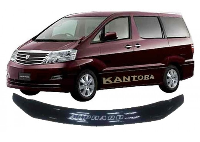 Дефлектор капота Toyota Alphard 10 2002-2008 mb