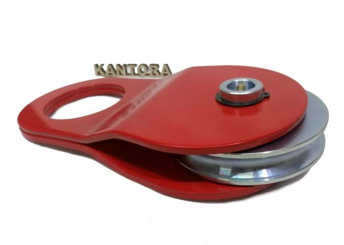 Полиспаст металлический на 10 тонн (блок) красный