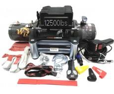 Лебёдка автомобильная 12500 LBS Pro&Top (WB) стальной трос