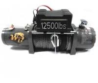 Лебёдка автомобильная 12500 LBS Pro&Top (WB) кевларовый трос