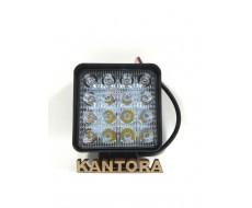 LED туманки в бампер доп.освещение Противотуманные фары  12V 48w 35мм