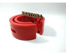 Проставка пружины межвитковая (автобафер) Тип C красная