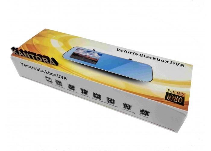 Зеркало с видеорегистратором заднего вида Vehicle Blackbox DVR