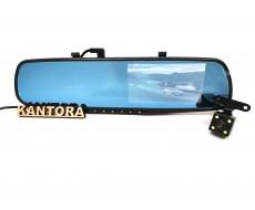 Зеркало с видеорегистратором заднего вида Vehicle Blackbox DVR NO: 700