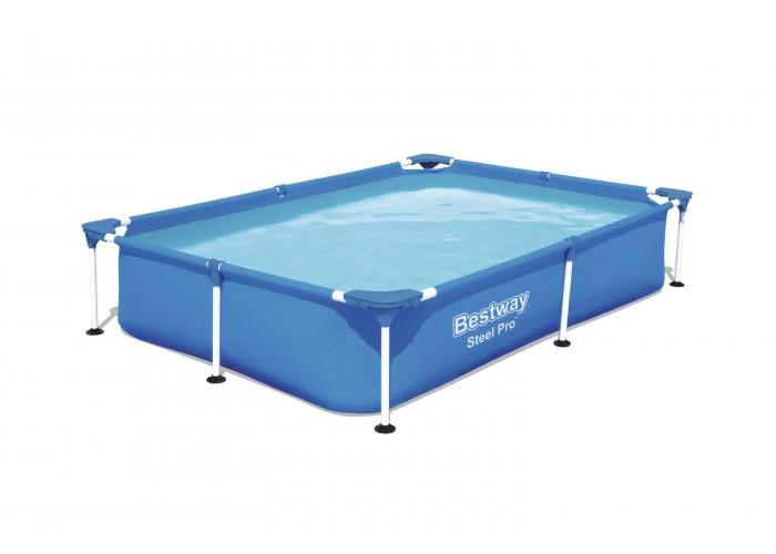Каркасный прямоугольный бассейн Bestway 56401 221х150х43 см