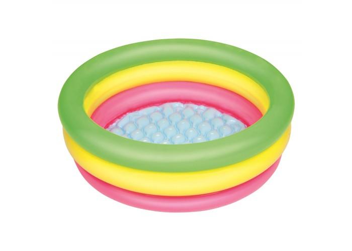 Детский надувной бассейн с надувным дном Bestway 51128, 70х24см
