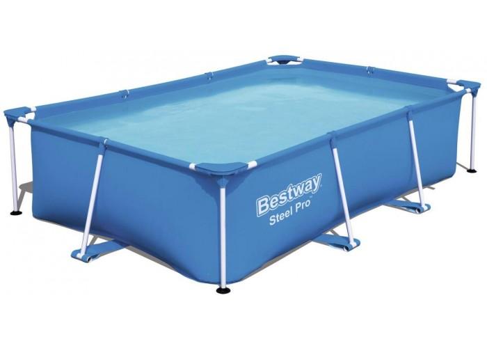 Каркасный прямоугольный бассейн Bestway 56403 290х203х61 см