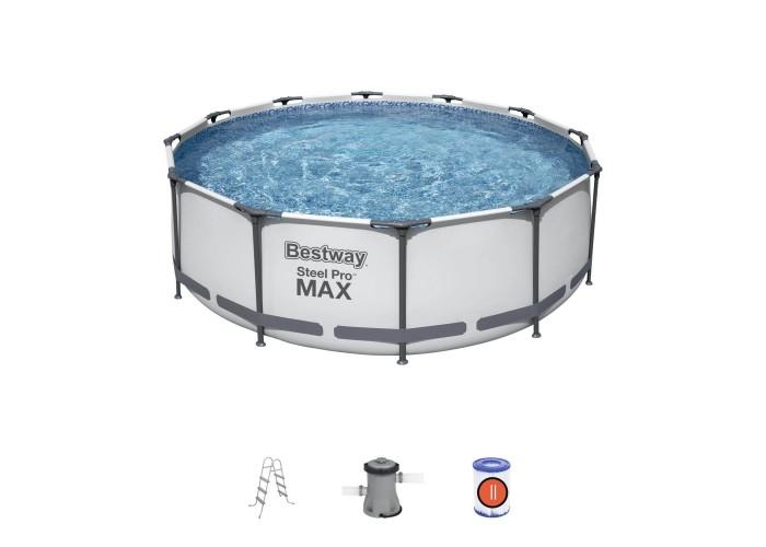 Каркасный бассейн 366х100 см Bestway 56418 круглый