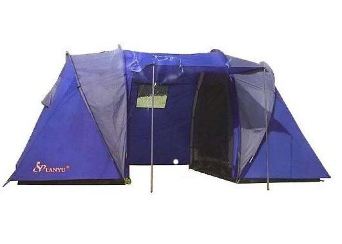 Палатка туристическая LanYu 1699 4-х местная 450х220х180см