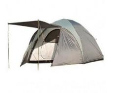 Палатка 4-х местная туристическая LANYU LY-1901  с навесом и тамбуром