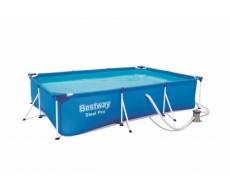 Каркасный бассейн Bestway 56411 300х201х66 см прямоугольный