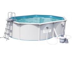 Бассейн каркасный со стальными стенками BestWay 56586 Hydrium Pools 500х360х120 см