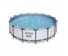 Каркасный круглый бассейн Bestway 56438 457x122 см с фильтром и аксессуарами