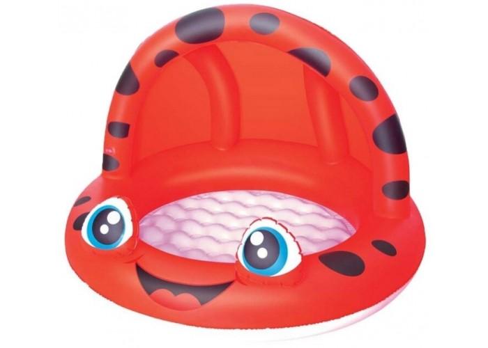 Детский надувной бассейн с навесом Bestway 52189 97х66см