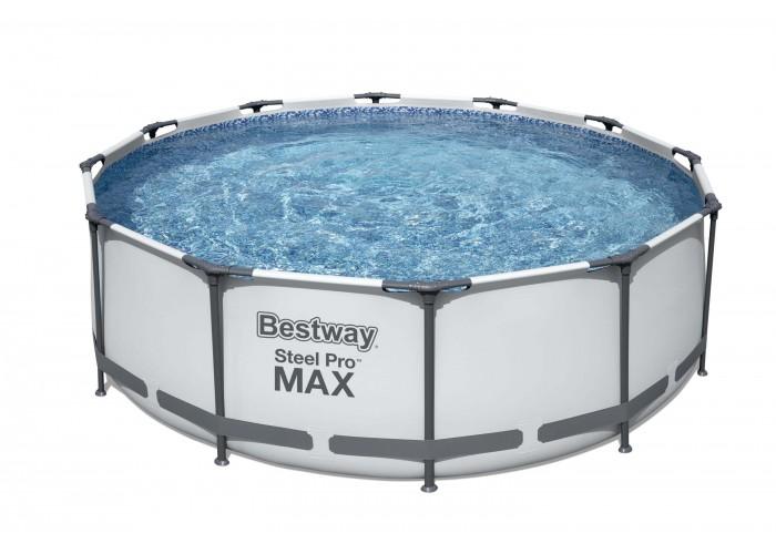 Каркасный бассейн Bestway 56416 366х76 см + фильтр-насос 1249 л/ч