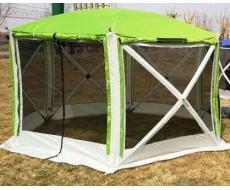 Палатка-шатер туристическая 5-ти местная Traveltop CT-6601 (365х320) высота 225см