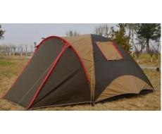 Палатка туристическая 4х-местная люкс TravelTop ART-1903 (130+220)x240xh180 См