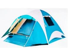 Палатка туристическая 3-х местная Traveltop CT-2316, с тамбуром (110+210)х210х165см