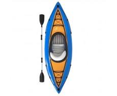 Надувная байдарка Bestway 65115 Cove Champion, 275x81см, весло, насос