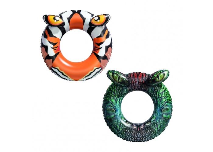 Надувной круг для плавания Bestway 36122 91см Хищники, 2 дизайна
