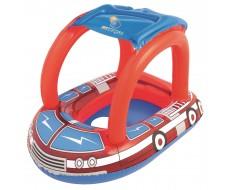 Детский плавательный круг Bestway 34093 Пожарная машина с крышей 81х58 см